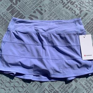 NWT Lululemon Pace Rival Skirt